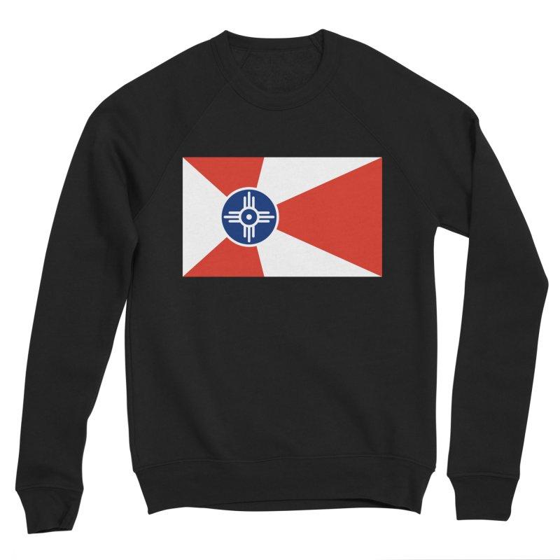 Wichita City Flag Women's Sponge Fleece Sweatshirt by OR designs