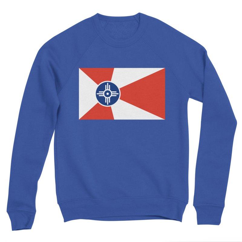 Wichita City Flag Men's Sweatshirt by OR designs