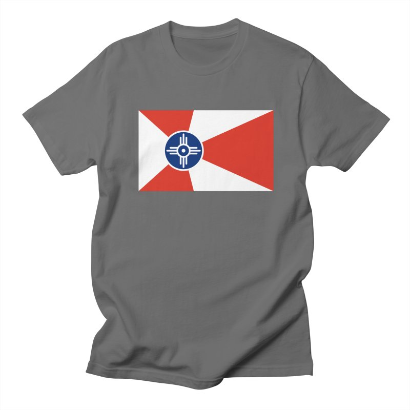 Wichita City Flag Men's T-Shirt by OR designs