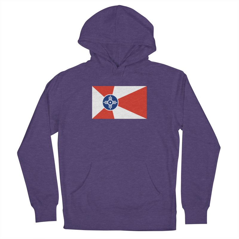 Wichita City Flag Men's Pullover Hoody by OR designs