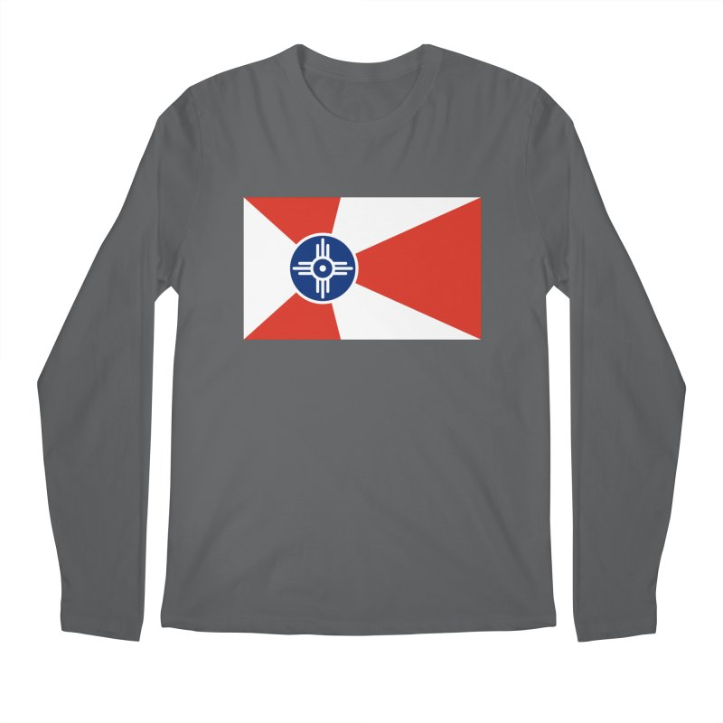 Wichita City Flag Men's Longsleeve T-Shirt by OR designs