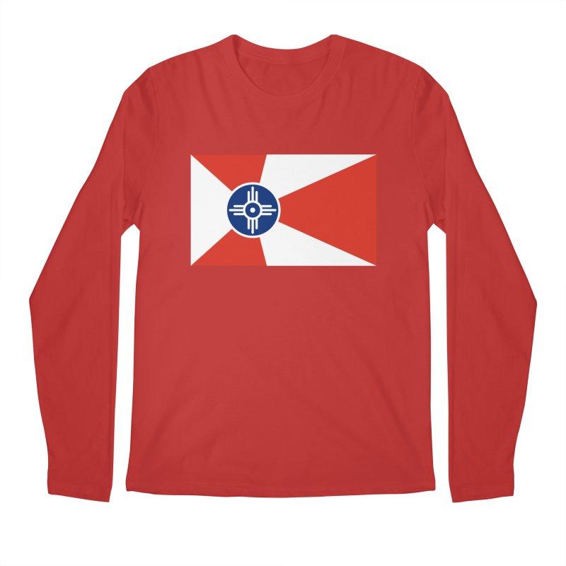 Wichita City Flag Men's Regular Longsleeve T-Shirt by OR designs