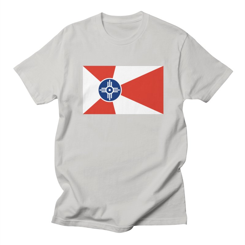 Wichita City Flag Women's Regular Unisex T-Shirt by OR designs