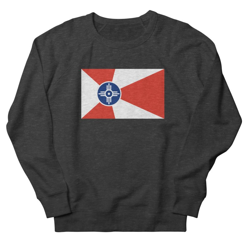 Wichita City Flag Women's French Terry Sweatshirt by OR designs