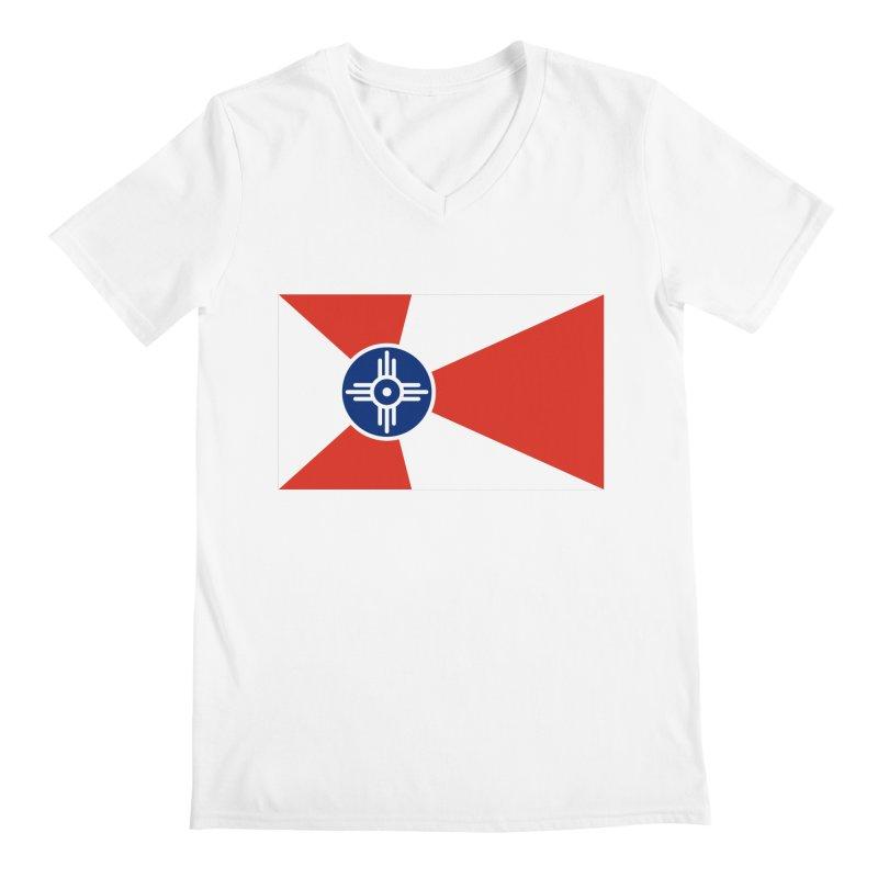Wichita City Flag Men's V-Neck by OR designs
