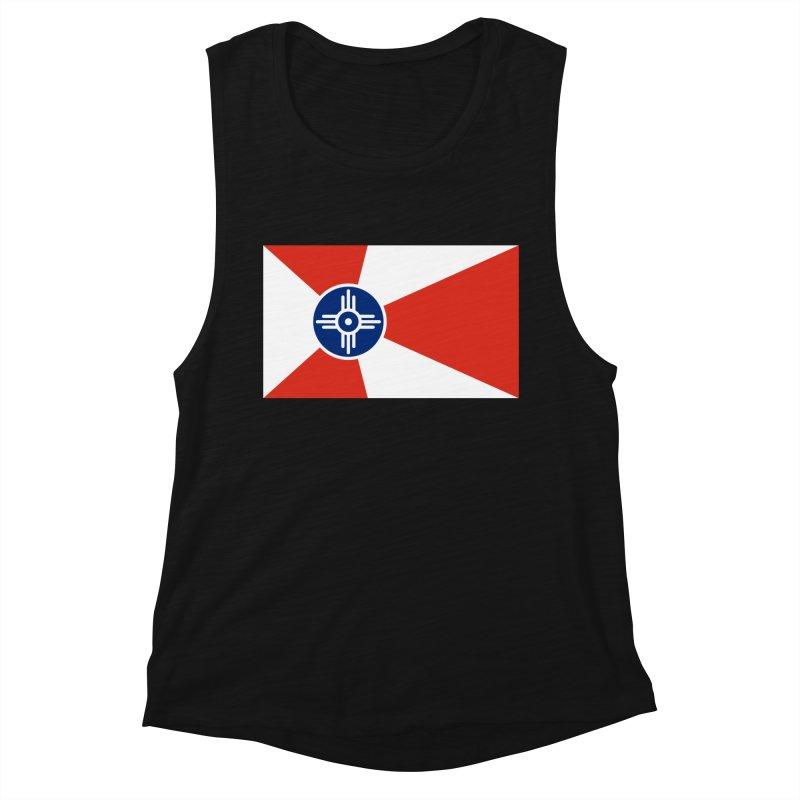 Wichita City Flag Women's Tank by OR designs