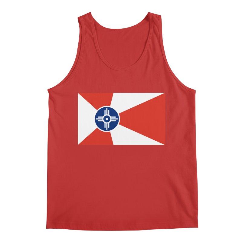 Wichita City Flag Men's Regular Tank by OR designs