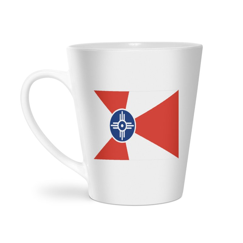 Wichita City Flag Accessories Latte Mug by OR designs