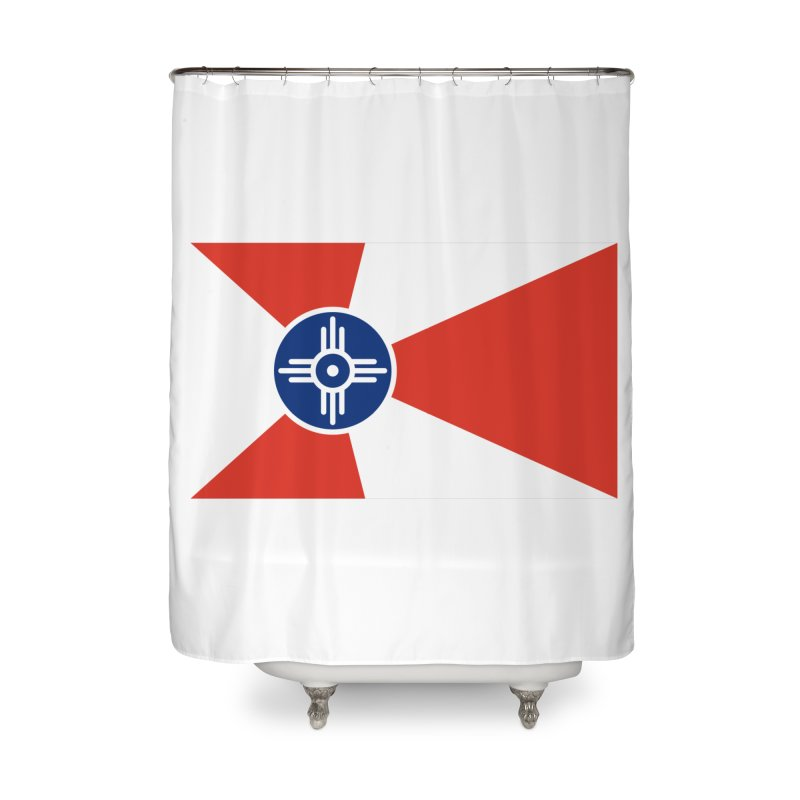 Wichita City Flag Home Shower Curtain by OR designs