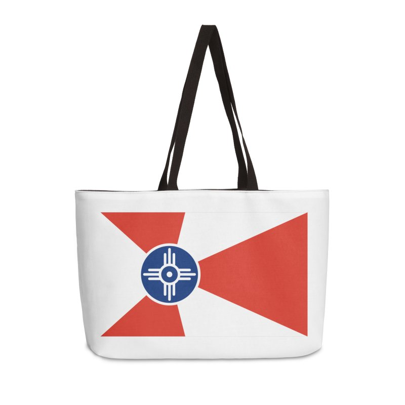 Wichita City Flag Accessories Bag by OR designs