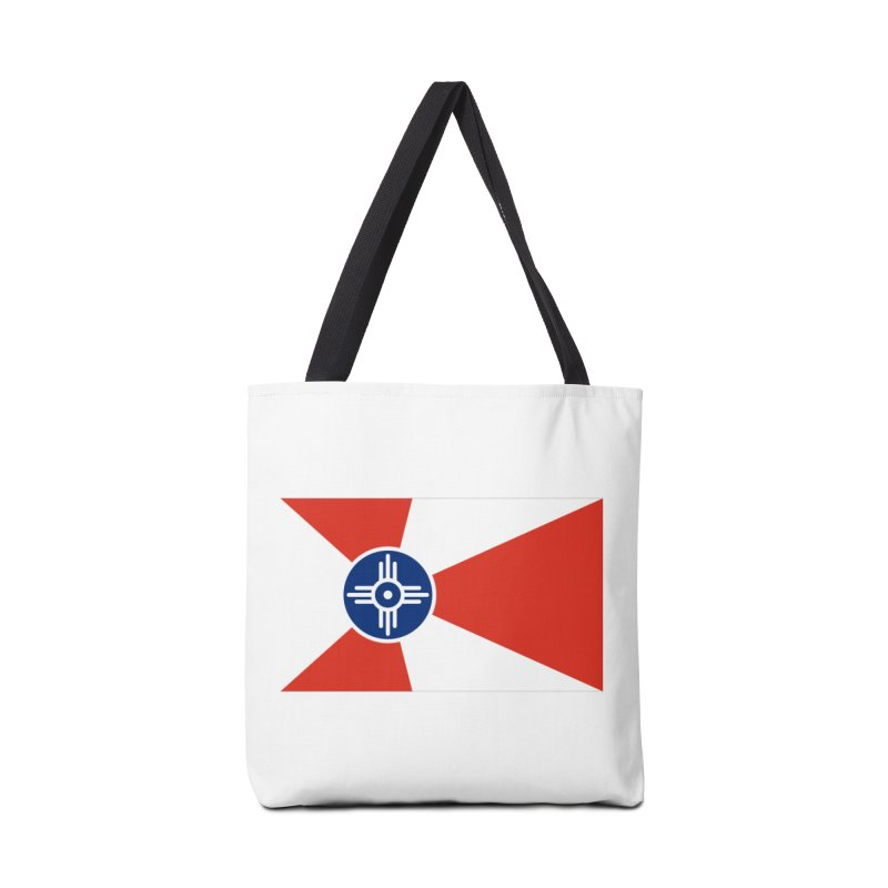 Wichita City Flag Accessories Tote Bag Bag by OR designs