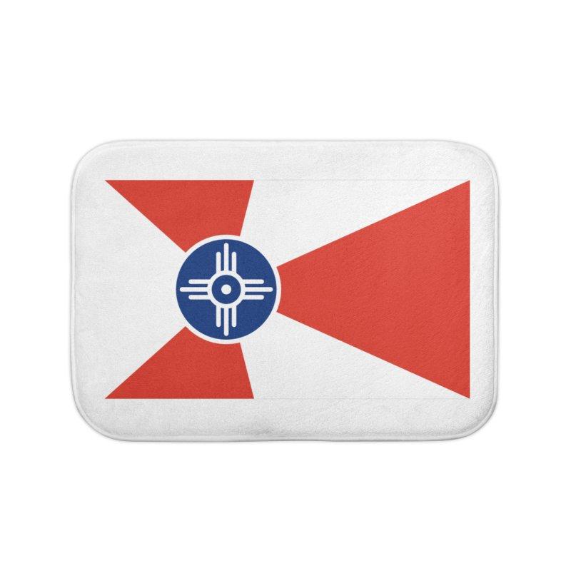 Wichita City Flag Home Bath Mat by OR designs