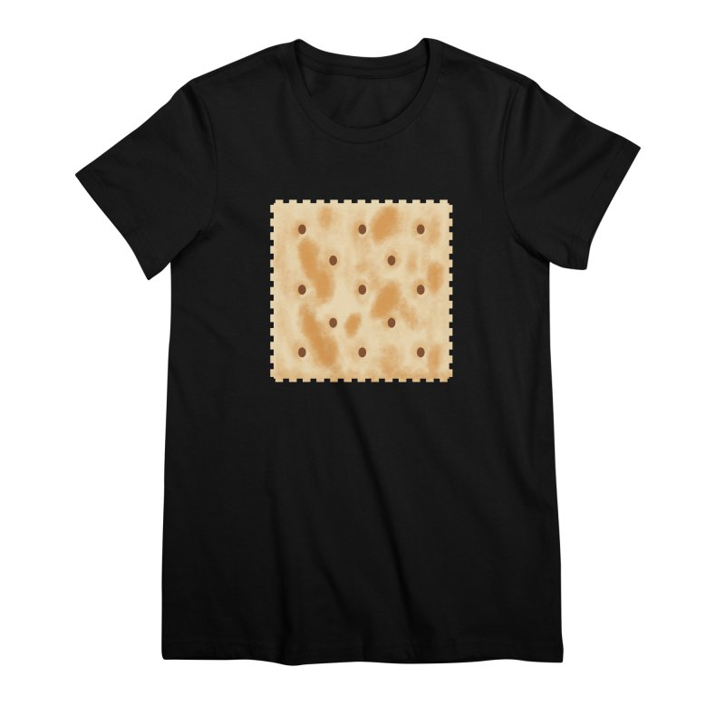 Cracker Women's Premium T-Shirt by OR designs