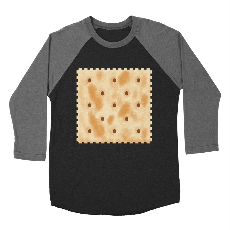 Cracker Women's Baseball Triblend Longsleeve T-Shirt by OR designs