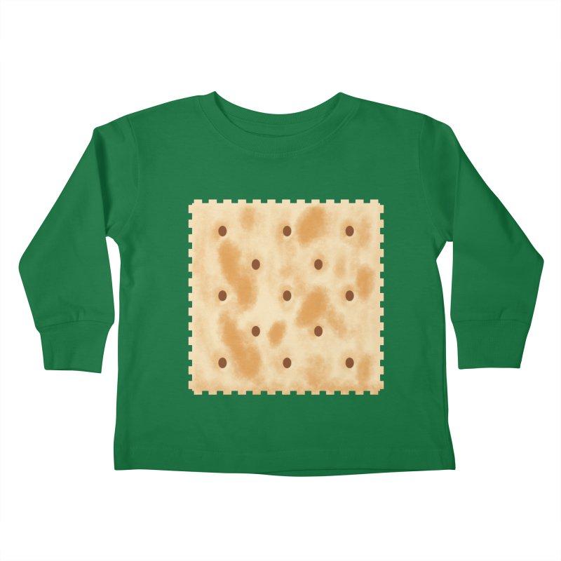 Cracker Kids Toddler Longsleeve T-Shirt by OR designs