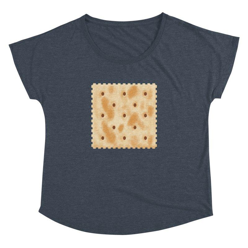 Cracker Women's Dolman Scoop Neck by OR designs