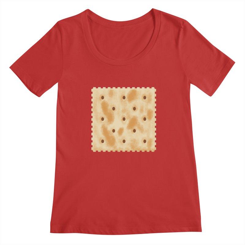 Cracker Women's Regular Scoop Neck by OR designs