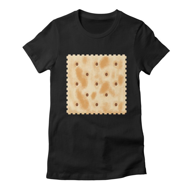 Cracker Women's Fitted T-Shirt by OR designs