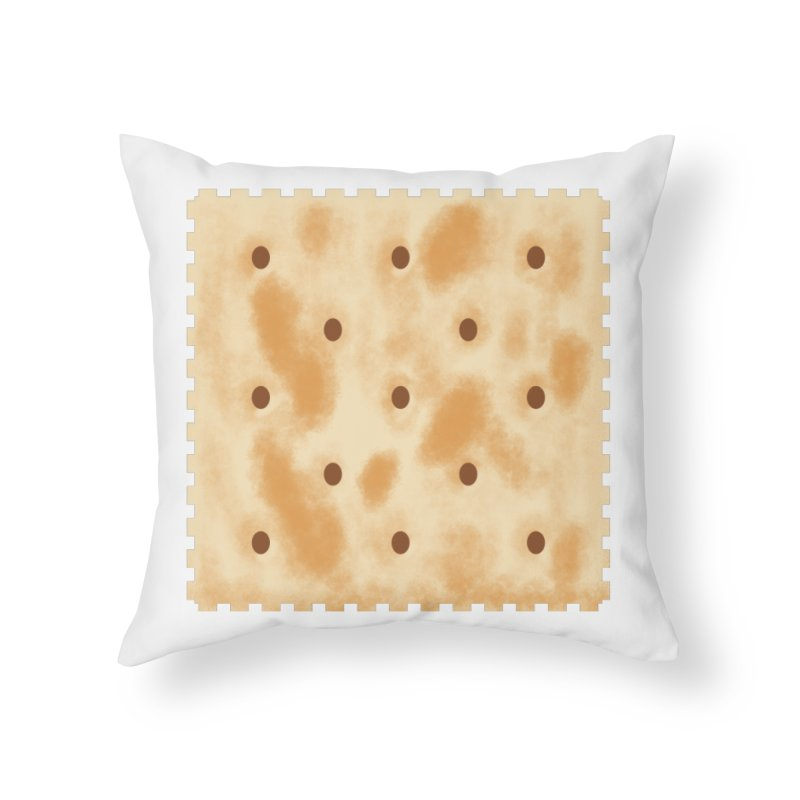 Cracker Home Throw Pillow by OR designs