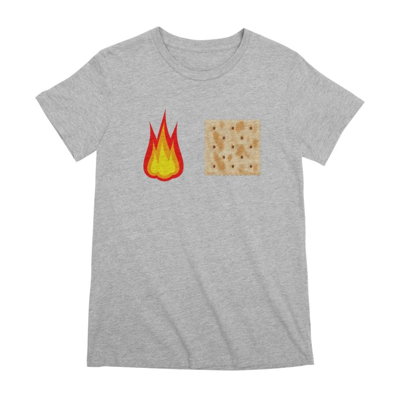 Fire Cracker Women's Premium T-Shirt by OR designs