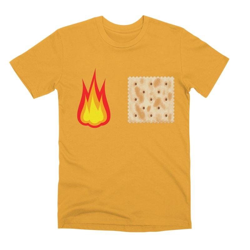 Fire Cracker Men's Premium T-Shirt by OR designs