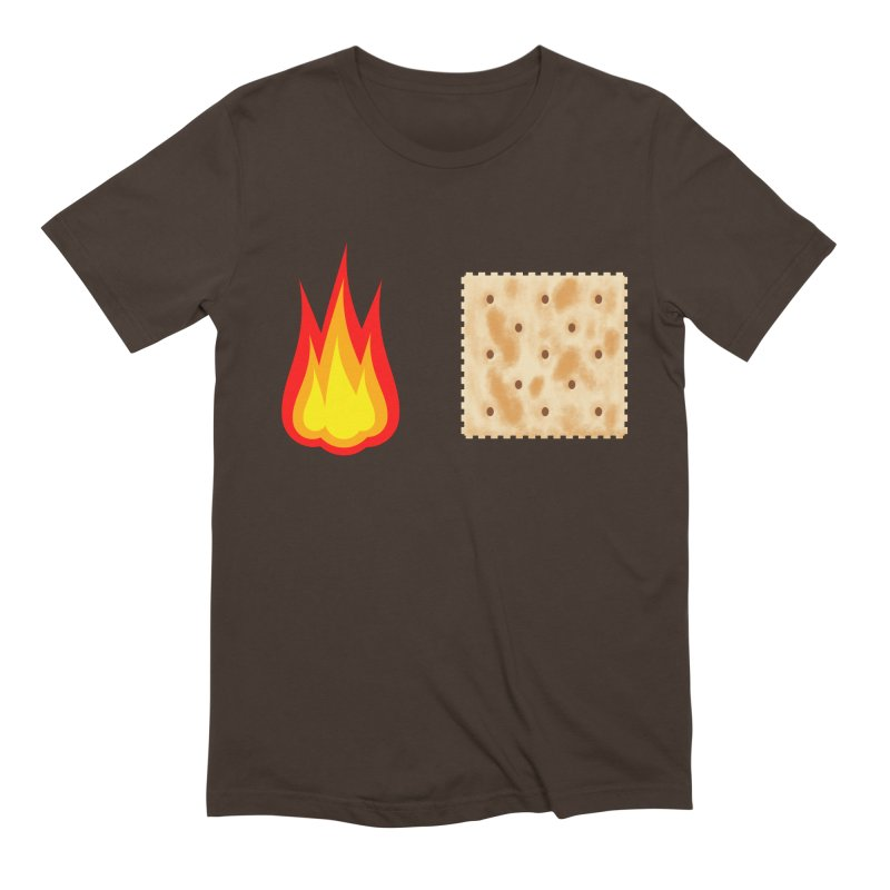 Fire Cracker Men's Extra Soft T-Shirt by OR designs