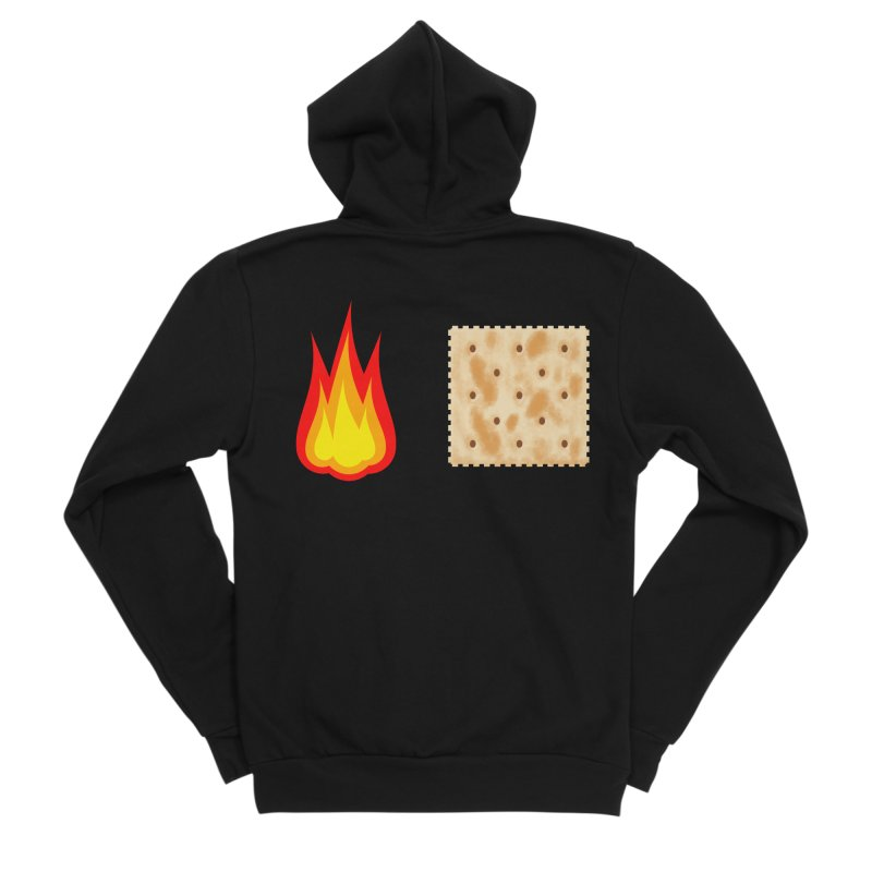 Fire Cracker Women's Sponge Fleece Zip-Up Hoody by OR designs
