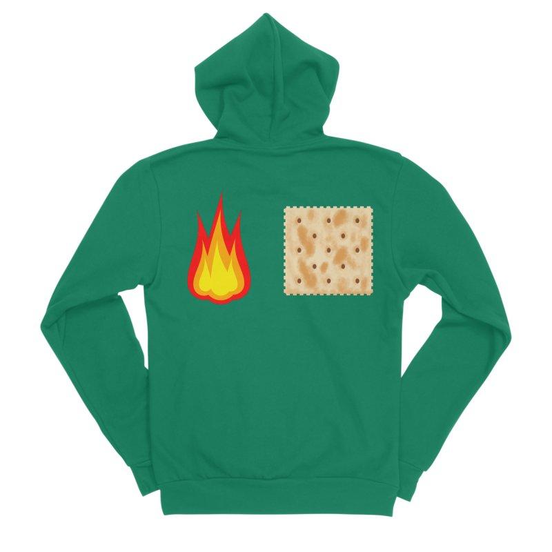 Fire Cracker Women's Sponge Fleece Zip-Up Hoody by OR designs