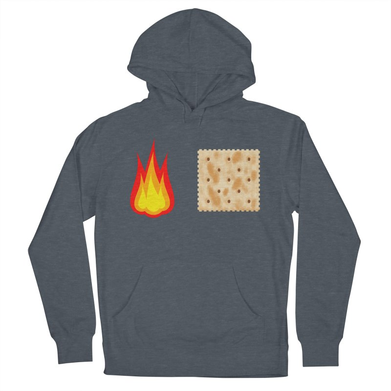 Fire Cracker Men's French Terry Pullover Hoody by OR designs