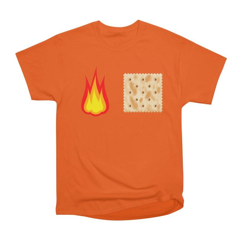Fire Cracker Men's Heavyweight T-Shirt by OR designs