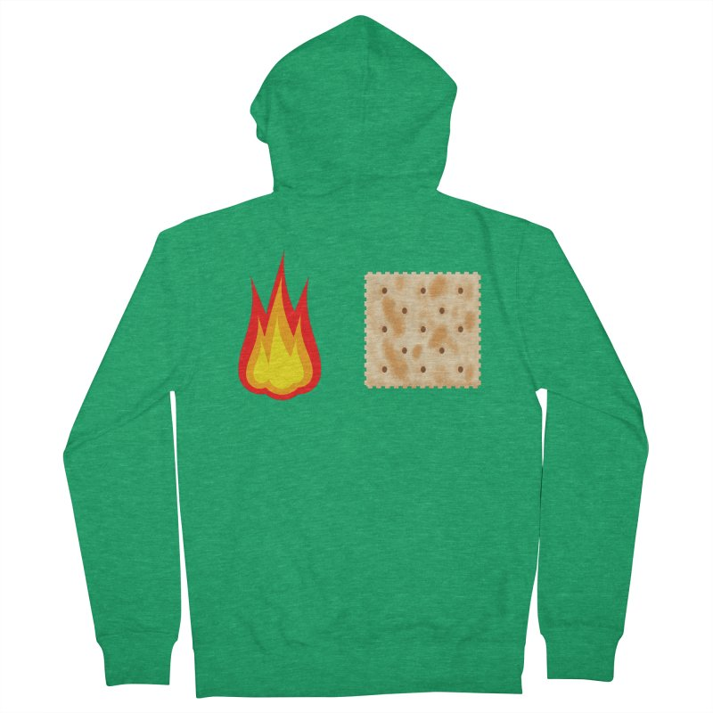 Fire Cracker Women's Zip-Up Hoody by OR designs