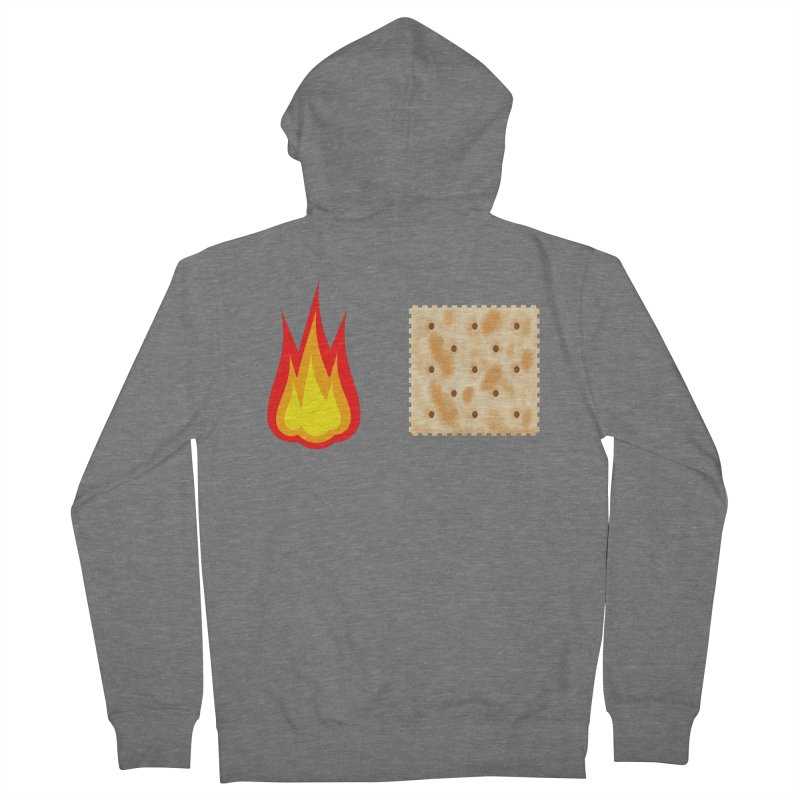 Fire Cracker Women's French Terry Zip-Up Hoody by OR designs