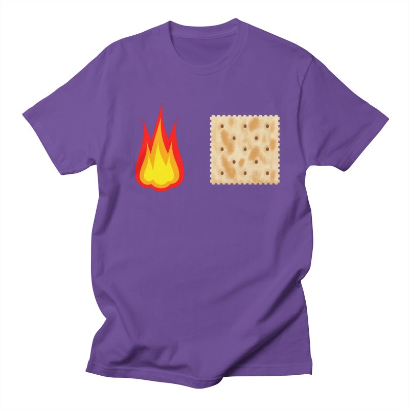 Fire Cracker Men's Regular T-Shirt by OR designs