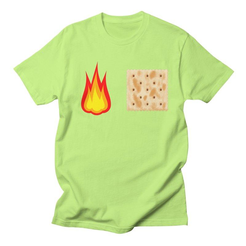 Fire Cracker Men's Regular T-Shirt by OR designs