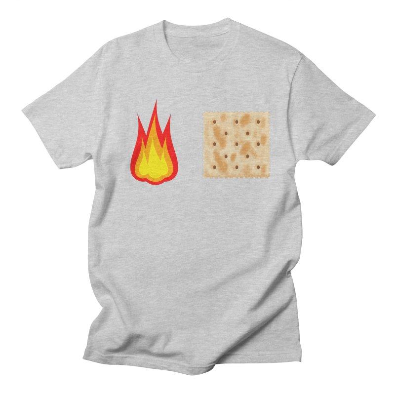 Fire Cracker Women's Regular Unisex T-Shirt by OR designs