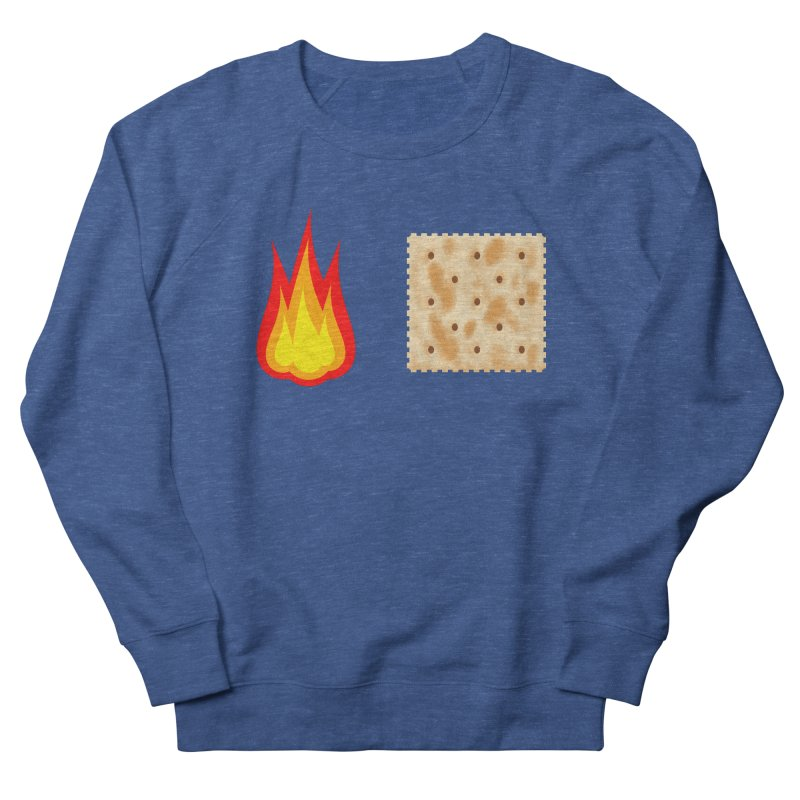 Fire Cracker Women's French Terry Sweatshirt by OR designs