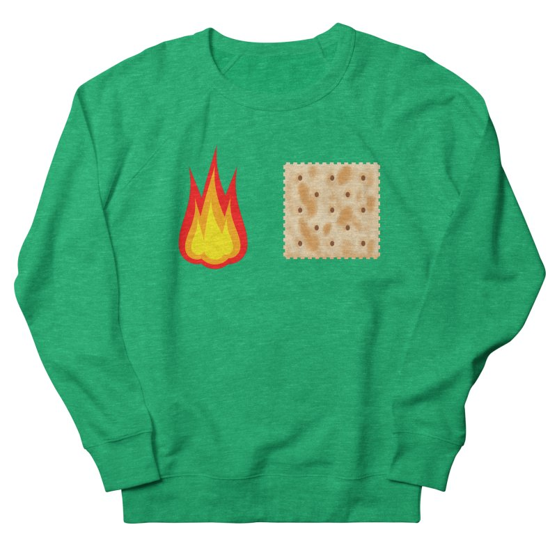 Fire Cracker Men's French Terry Sweatshirt by OR designs
