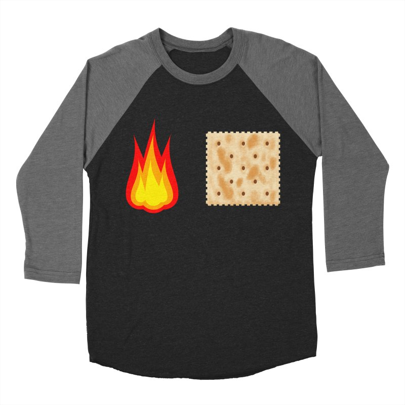 Fire Cracker Women's Baseball Triblend Longsleeve T-Shirt by OR designs