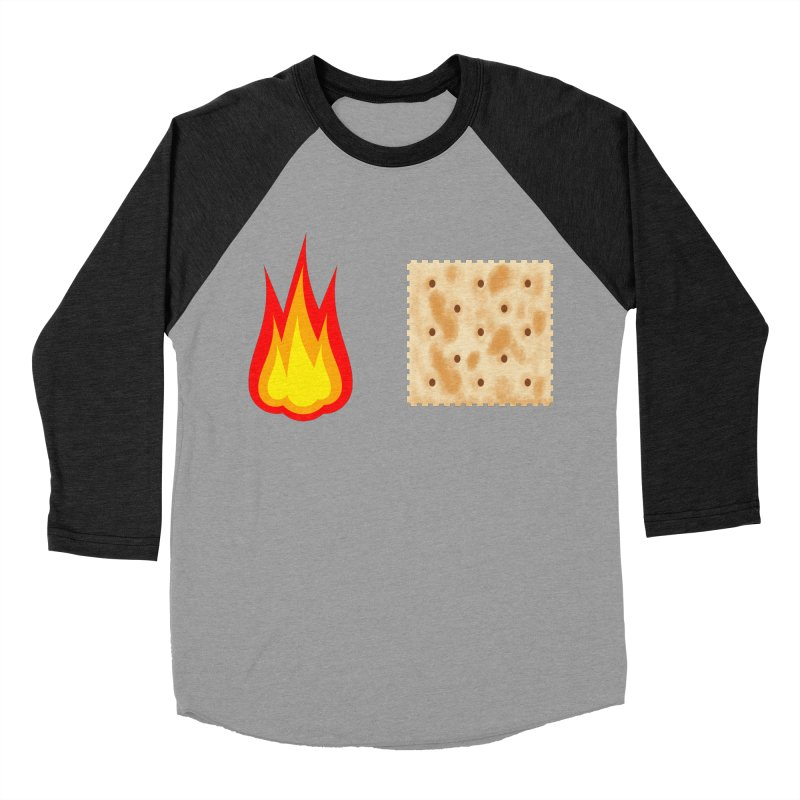 Fire Cracker Women's Baseball Triblend Longsleeve T-Shirt by OR designs