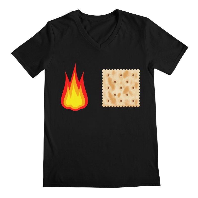 Fire Cracker Men's V-Neck by OR designs