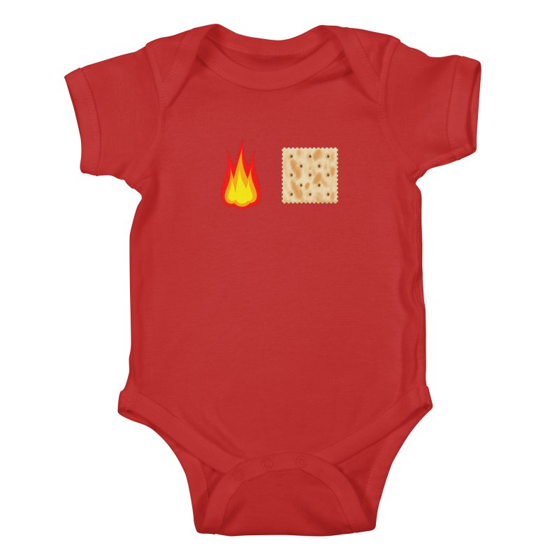 Fire Cracker Kids Baby Bodysuit by OR designs