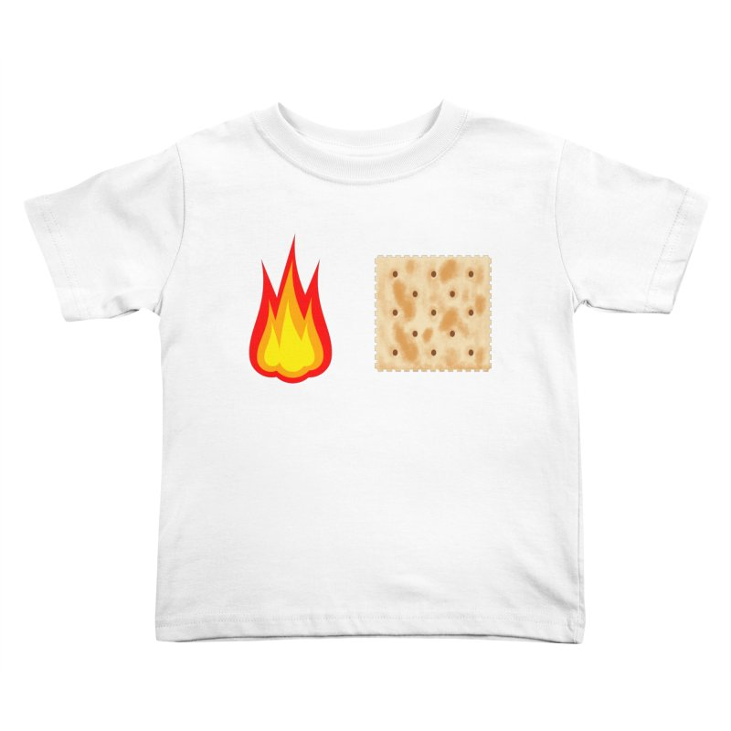 Fire Cracker Kids Toddler T-Shirt by OR designs