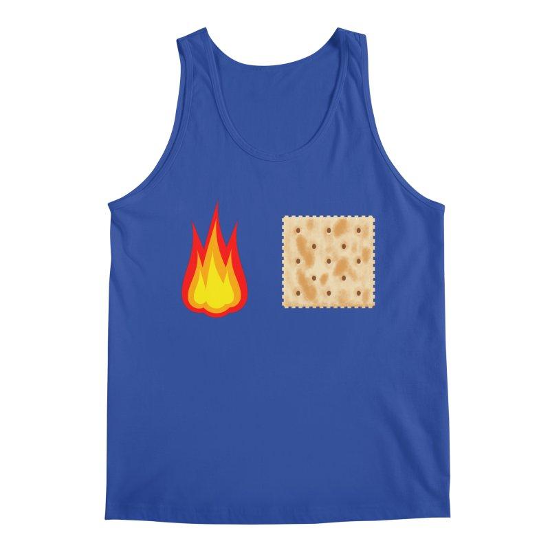 Fire Cracker Men's Regular Tank by OR designs