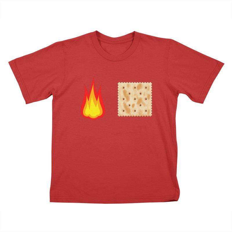 Fire Cracker Kids T-Shirt by OR designs