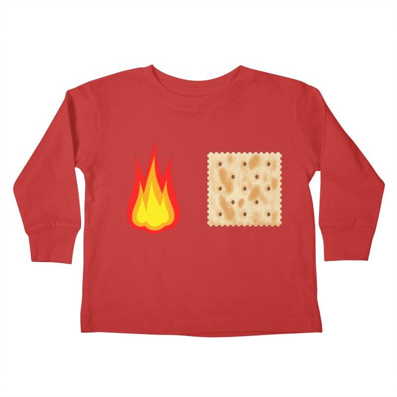 Fire Cracker Kids Toddler Longsleeve T-Shirt by OR designs