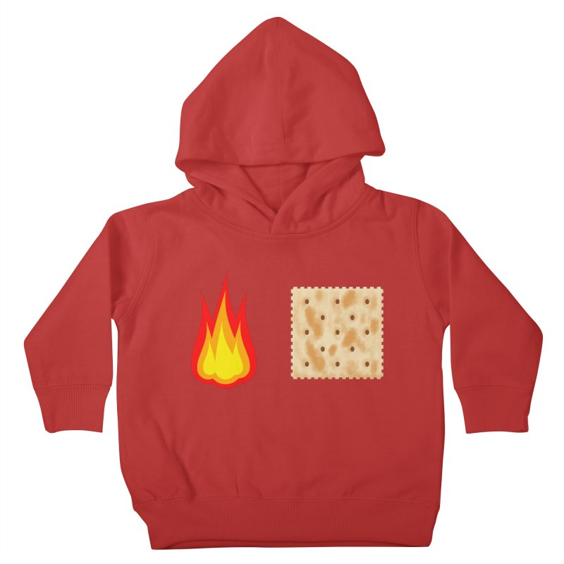 Fire Cracker Kids Toddler Pullover Hoody by OR designs