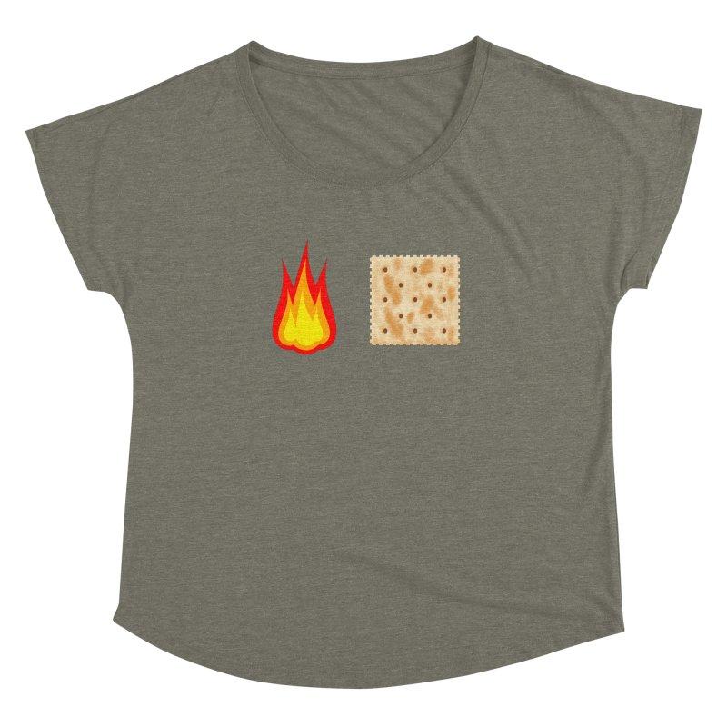 Fire Cracker Women's Dolman Scoop Neck by OR designs