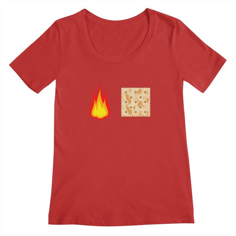 Fire Cracker Women's Regular Scoop Neck by OR designs
