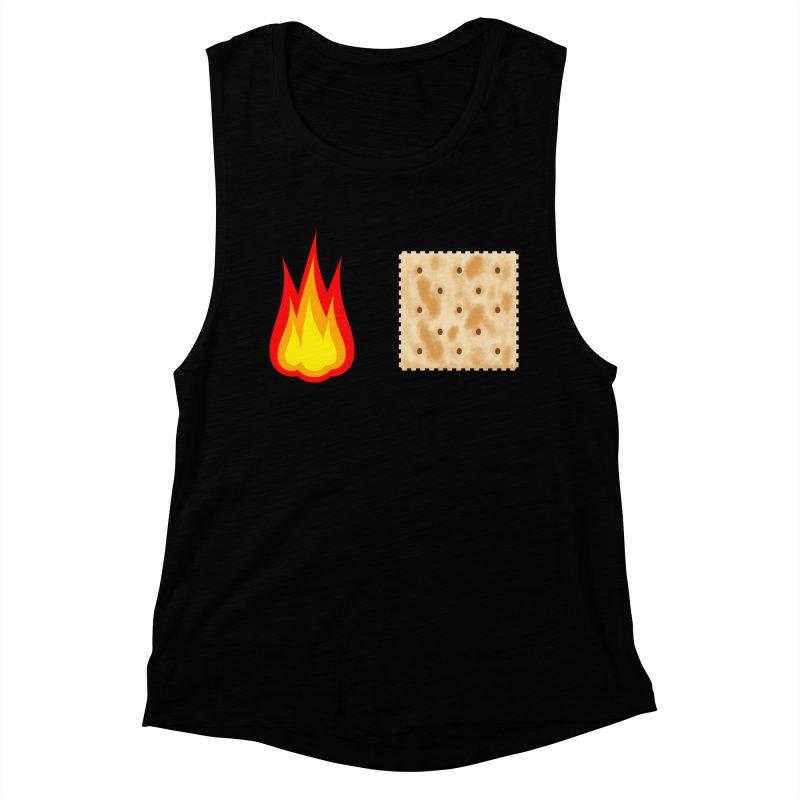Fire Cracker Women's Muscle Tank by OR designs