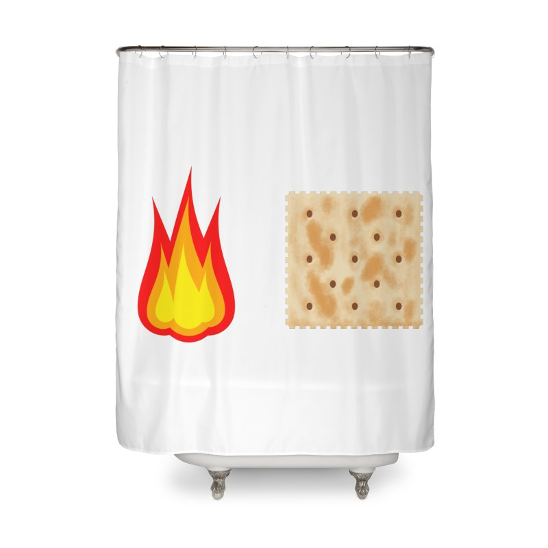 Fire Cracker Home Shower Curtain by OR designs